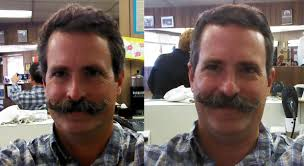 my quest for the epic handlebar mustache haircut before and after