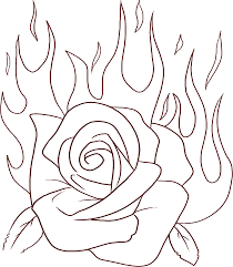 rose coloring pages coloring ville rose flower printable rose