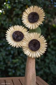 Make Your Own Paper Flowers - diy paper sunflower lia griffith