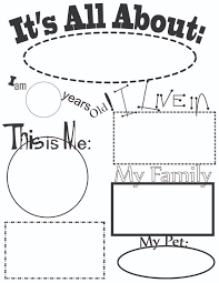 best 25 all about me worksheet ideas on pinterest all about me