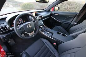 lexus is van 2016 lexus is 200t interior 017 the truth about cars