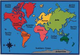 world map map carpets