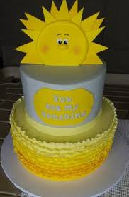 you are my sunshine birthday party theme party wedding cakes