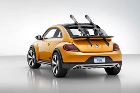 volkswagen beetle concept vw u0027s new beetle dune concept can carry skis in style