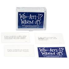 courage to change topic skills who am i warm up cards
