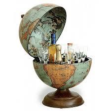 Small Desk Globe Laguna Desk Globe With Small Drinks Cabinet Bar Globes
