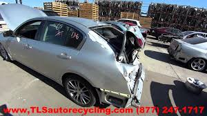 parting out 2008 infiniti g35 stock 5194pr tls auto recycling