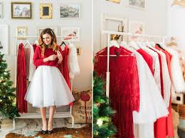 Red and White Christmas Outfit Ideas » Claudia Fagadar