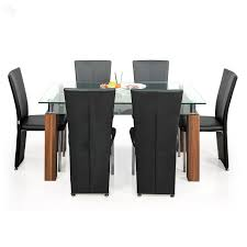 royal oak barcelona dining table set black and brown amazon in