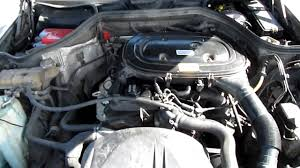 mercedes benz 230e a 92 w124 engine youtube