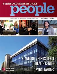 Stanford Health Care Shc Stanford Stanford Health Care People Fall 2015 By Stanford Health Care