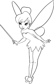 coloring pages tinkerbell funycoloring