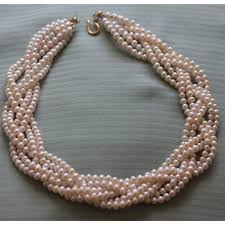 pearl necklace jewellery making images Braided pearl necklace png