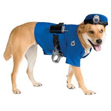 police dog halloween costume with same day shipping baxterboo
