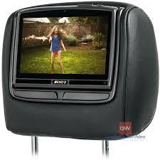 toyota highlander dvd headrest audiovox hr8 8 inch headrest entertainment system for 2008 2013