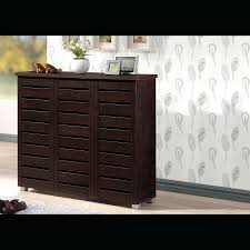 Large Shoe Cabinet With Doors by Narrow Storage Bench Entryway Wood Shoe Cabinet With Drawers
