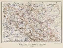 Hindu Kush Map Indian Subcontinent After 1900 Mcadd Pahar