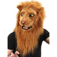 lion halloween costume lion mouth mover mask furry cosplay head cat mask