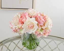 Flowers For Home Decor Seattle Real Touch U0026 Faux Artificial Flower Arrangement By Flovery