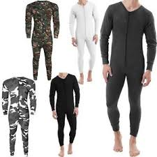 mens one jumpsuit mens thermal all in one jumpsuit playsuit baselayer zip