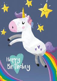 Unicorn Birthday Meme - happy birthday unicorn 9 printable cards set 50 off instant