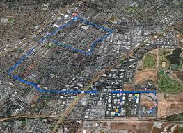 Google Maps Running Route by The First Look At How Google U0027s Self Driving Car Handles City