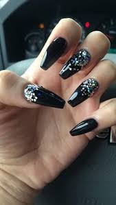 Black Manicure Designs 61 Acrylic Nails Designs For Summer 2018 Style Easily