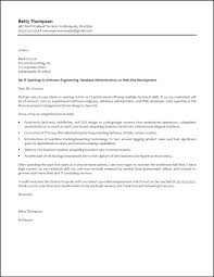 resume cover letter format example best 25 examples of cover
