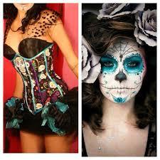Sugar Skull Halloween Costumes 36 Dead Images Sugar Skulls Candy