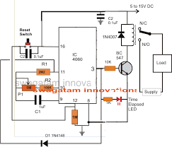 On Off Timer Circuit Diagram Simple Adjustable Industrial Timer Circuit