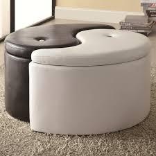 tufted round storage ottoman u2014 optimizing home decor ideas