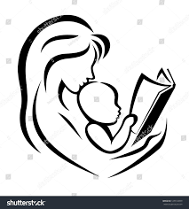 royalty free mother and child reading the book u2026 125512859 stock