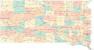 South Dakota travel hacker images Map of south dakota america maps map pictures gif