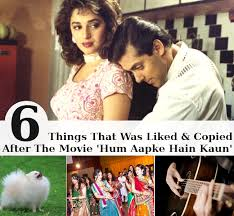 hum apke hain kaun 6 things that was liked and copied after the hum aapke hain