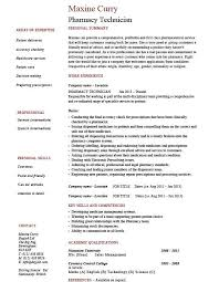 Pharmacist Technician Resume Marvellous Design Pharmacy Technician Resume Skills 12 Pharmacy