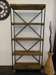 Distressed Wood Bookcase 197 Best Bookshelves Images On Pinterest Bookcases Industrial