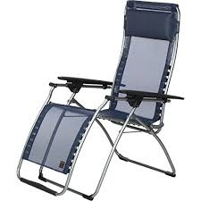lafuma futura zero gravity recliner grey steel frame with iso