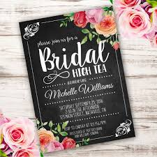 bridal luncheon invitations templates printable bridal high tea invitation template invite your guests