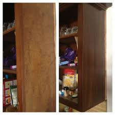 Gel Stains For Kitchen Cabinets Before And After Using A Deglosser Then Gel Stain On The Kitchen