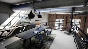 ila industrial loft apartment unreal engine 4 archviz virtual