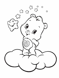 pretty design care bears coloring pages bear crafty us free