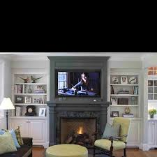 Built In Bookshelves Around Tv by 15 Best Built Ins And Tv Wall Ideas Images On Pinterest Accent