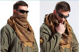 arab wrap army tactical keffiyeh shemagh arab scarf shawl neck