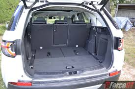 nissan micra luggage capacity 2017 land rover discovery sport luggage space forcegt com