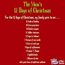 12 A Memes - the mom s 12 days of christmas hahas for hoohas