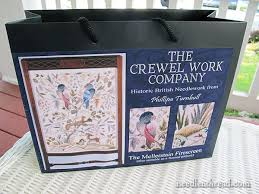 the crewel work company embroidery kits review needlenthread