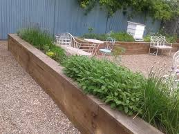 fall raised garden bed timber diy raised garden bed ideas beds