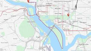 Georgetown Map Detailed Maps Washington Running Club