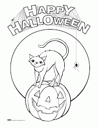free happy halloween coloring pages kids coloring