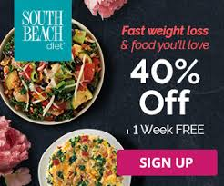 south beach diet delivery service 40 off and free shipping